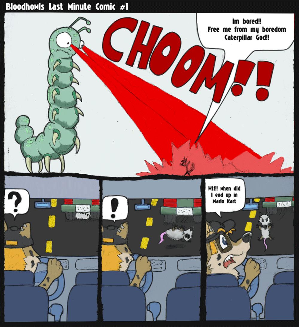 Last Minute Comic 1